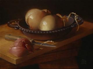 Rebecca C Gray, Onions and Shallot, 2009