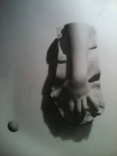 Rebecca C Gray, Hand Cast Drawing, 2012.