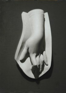 Rebecca C Gray Hand Cast Painting, 2012.