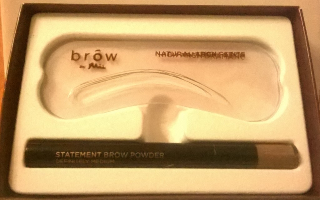 Review: Mii Cosmetic Statement Brow Kit