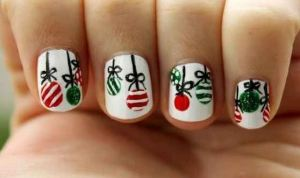 baubles buzzfeed nail art