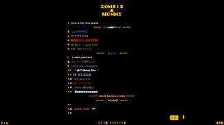 Zombie and Mummy