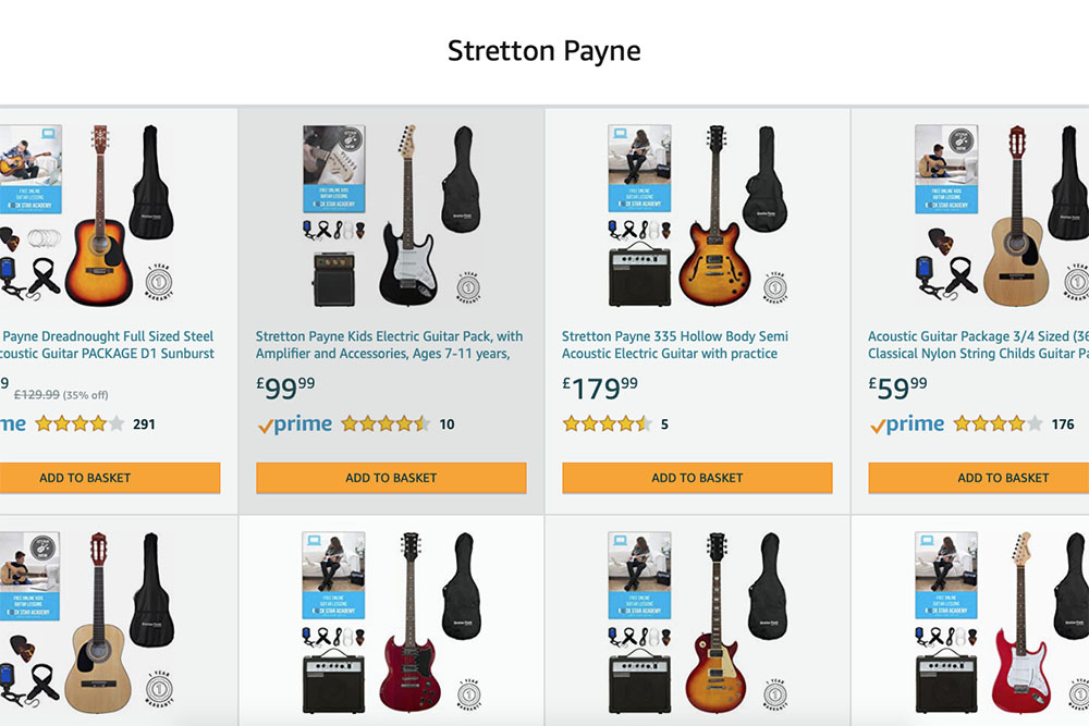 Stretton Payne Amazon Store Front