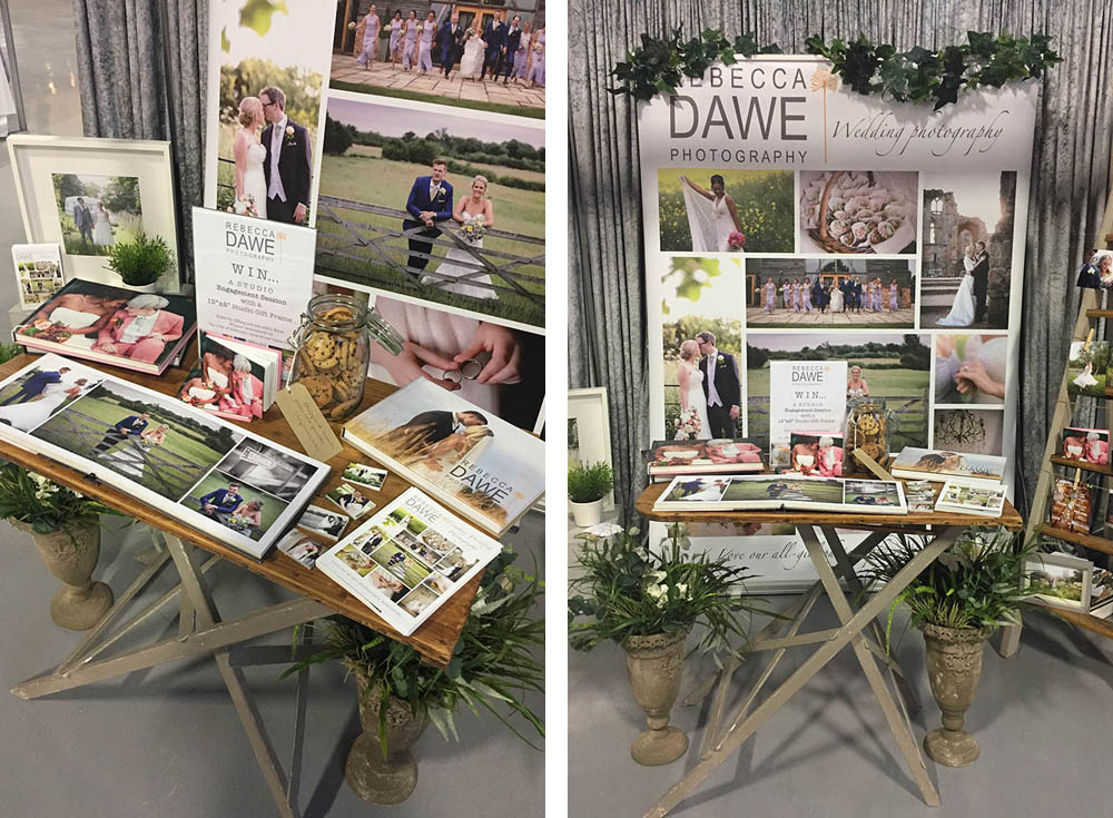 RDP Stand Bruntingthorpe Wedding Fayre