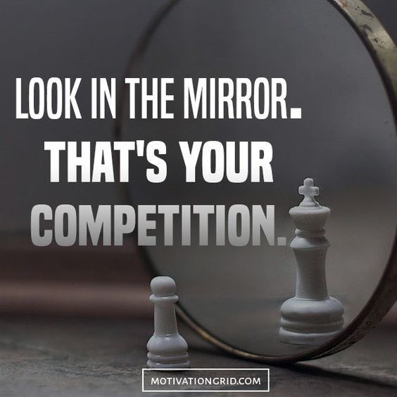 Just A Girl Boss Building Her Empire Wallpaper Look In The Mirror That Is Your Competition Chapel Of