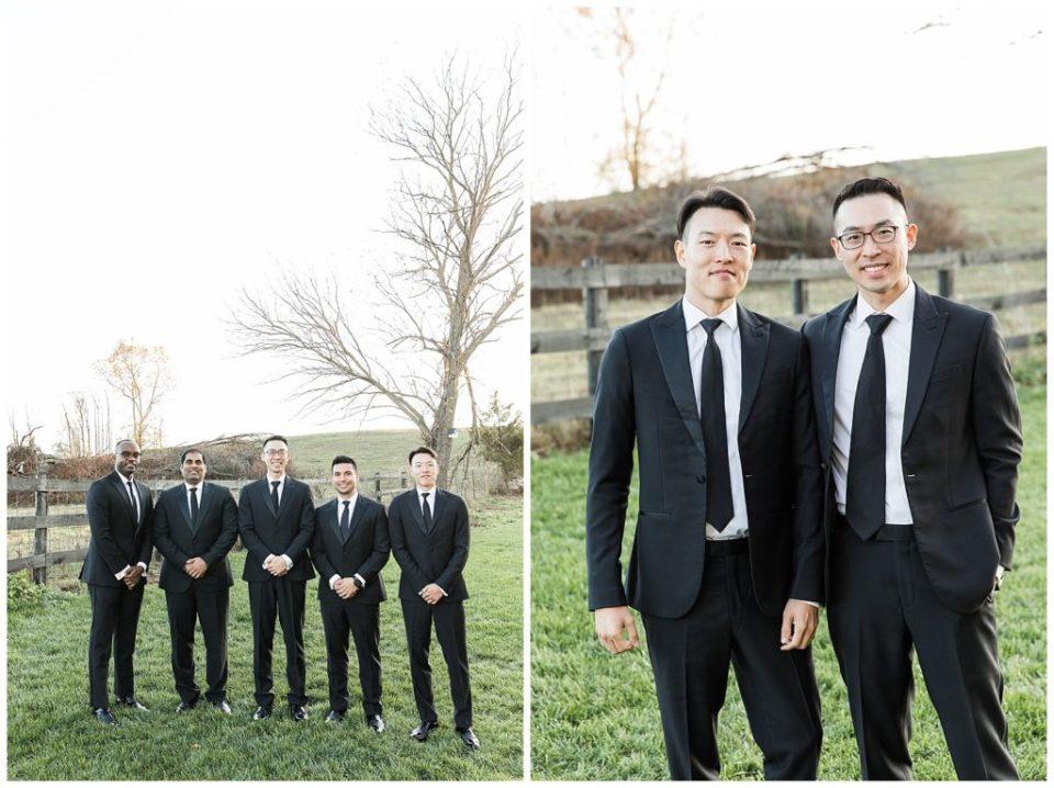 Groom and groomsmen. Nordstrom suit.