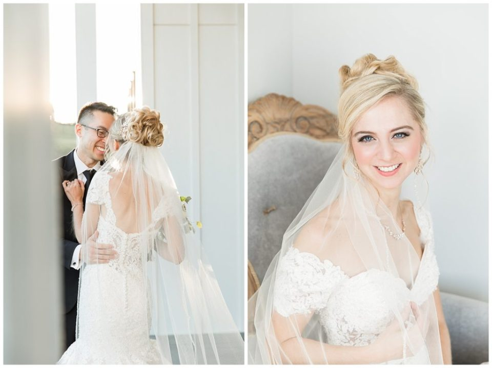 Bridal portrait. Love. Groom. Happy couple.