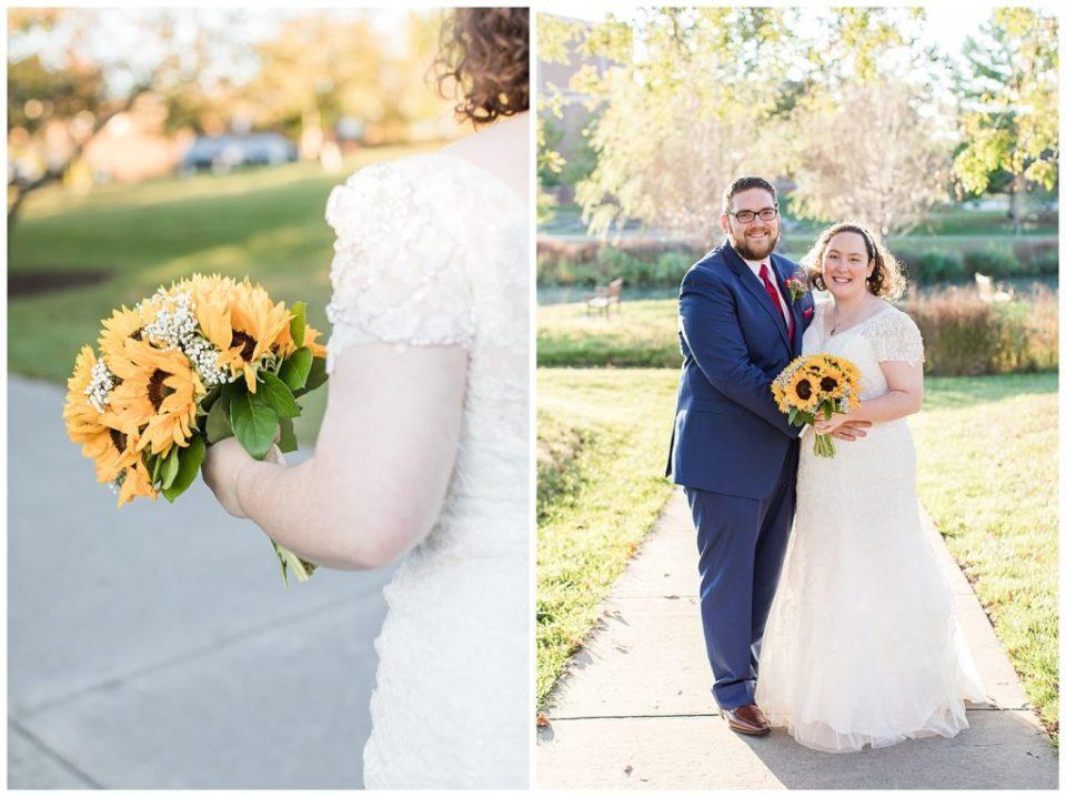 Rebecca Dotson Photography. Virginia Wedding. Fall. Sunflowers.
