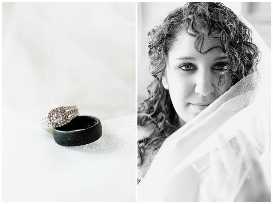 Virginia Bride. Black and White.
