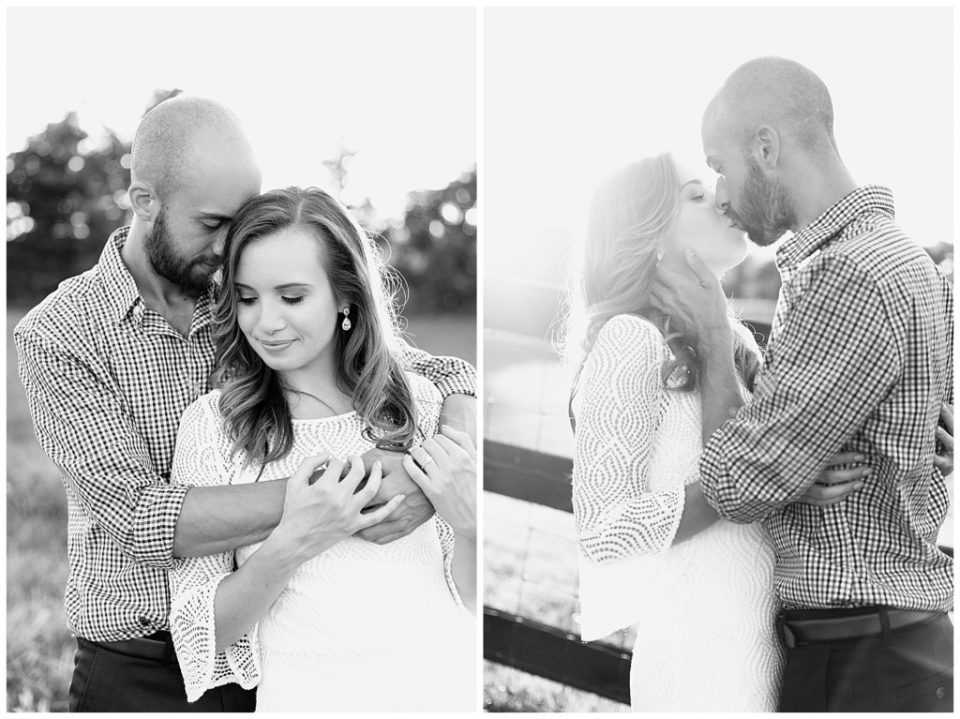 Black and White Photography. Engagement. Virginia.