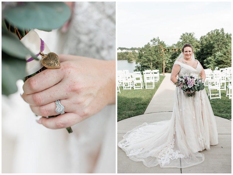 Lake Frederick. Virginia. Bride.