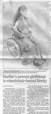 Share a smile becky article