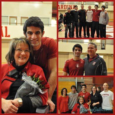 Senior Day Collage