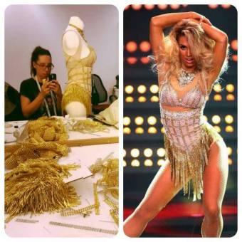 "Aneta ""Burlesque"" Dance Dance Dance"