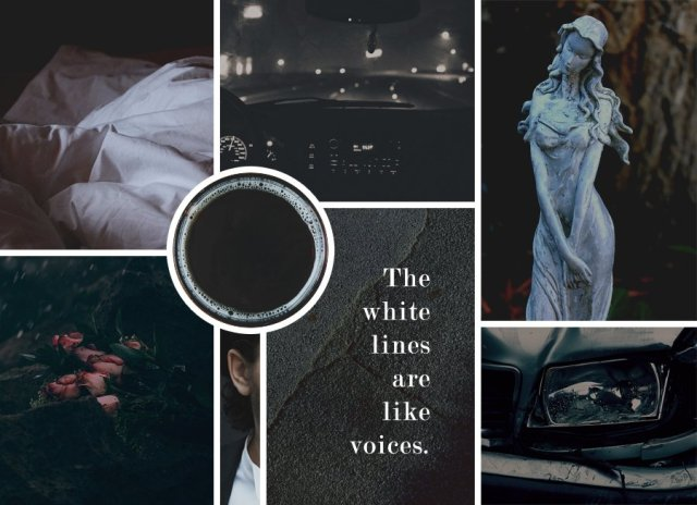 Image of a moodboard that helps with motivating while writing.