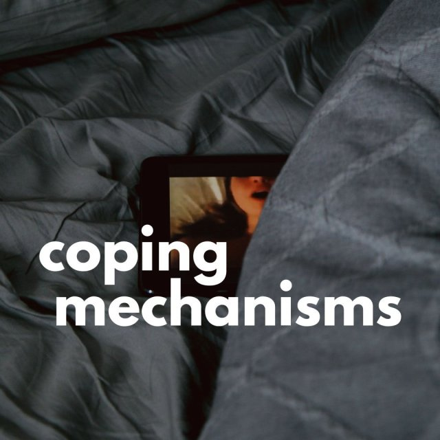 Cover image for COPING MECHANISMS by Rebecca Jones-Howe.