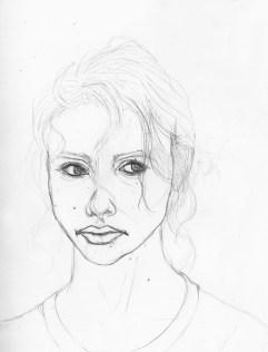 Portrait Sketch, Sketchbook 2015