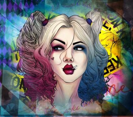 Harley Quinn, July 2015