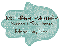 Mother to Mother with Rebecca Leary Safon Logo