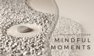 Mindful Moments+CHANT: Morning Meditation from a Jewish perspective @ Online via Zoom