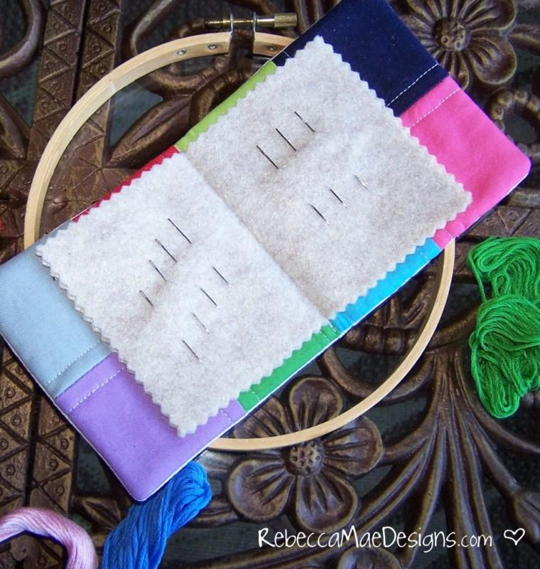needle wallet