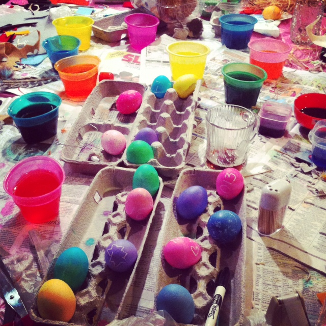 Easter Egg Decorating