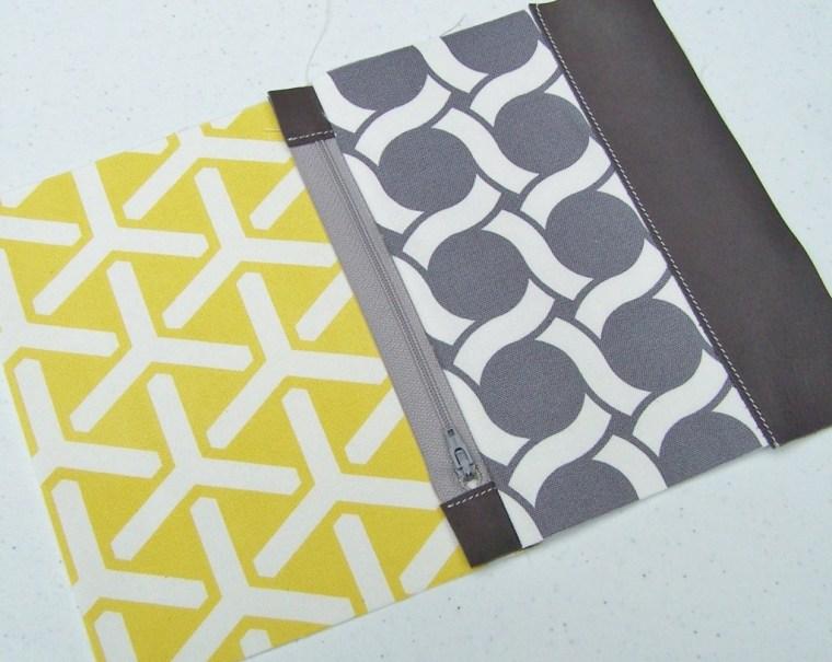 zipper tutorial cloud 9 fabric