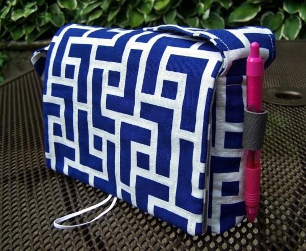 Coupon organizer sewing pattern