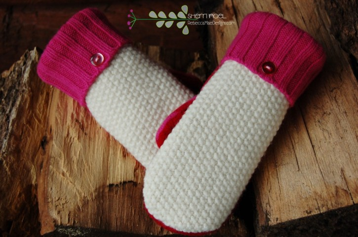 madawaska mittens from sweaters
