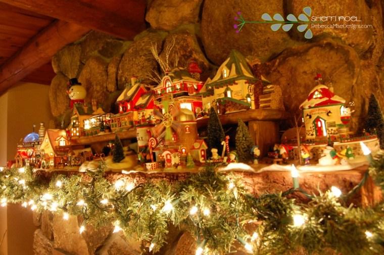 Department 56 North Pole Village display