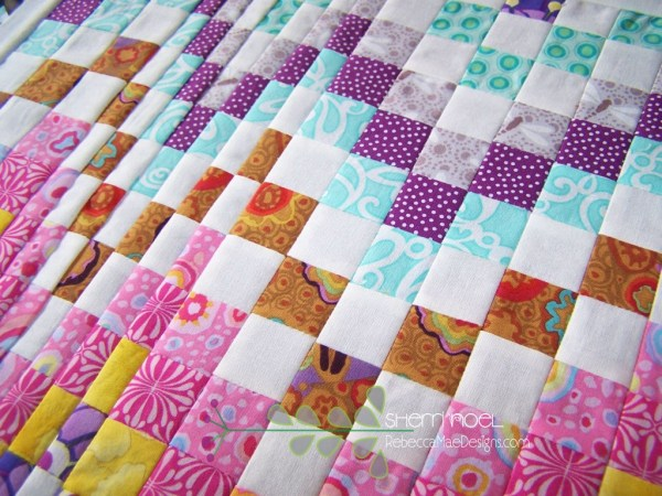 bargello quilt block tutorial