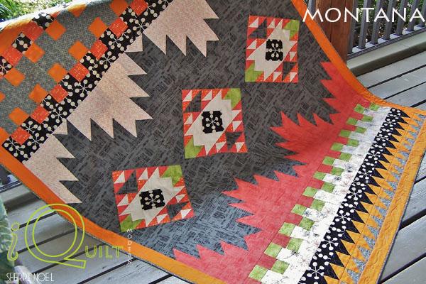 #iquilt modern native quilt