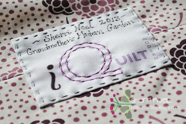 spoonflower quilt labels