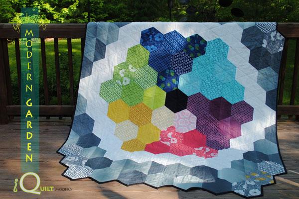 modern garden quilt pattern