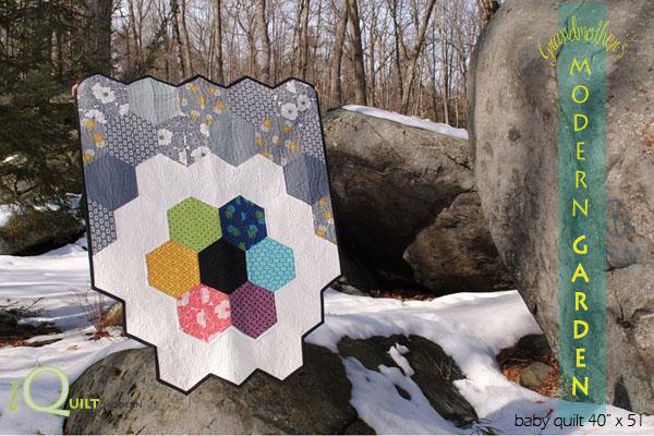 modern garden quilt pattern 0109