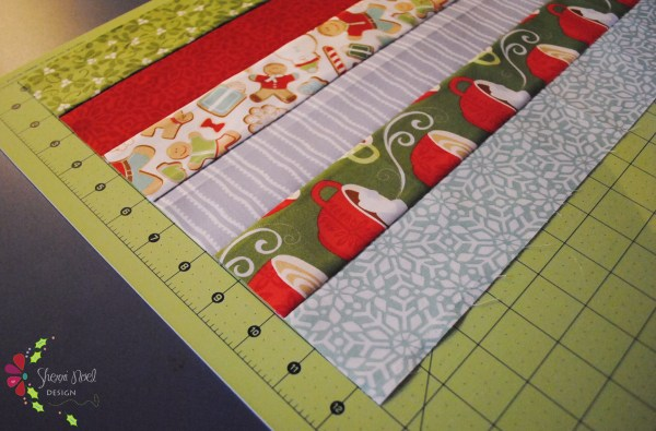 trip around the world quilt block tutorial