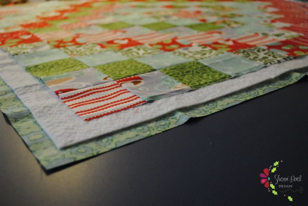 trip around the world quilt tree skirt tutorial