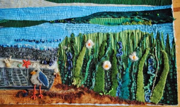 embellishment quilt seashore beach