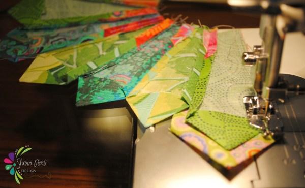 wedge quilt block