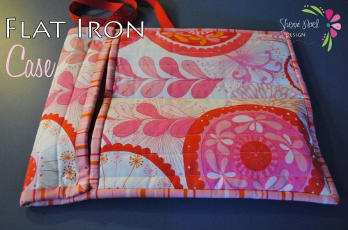 flat iron case travel sewing tutorial