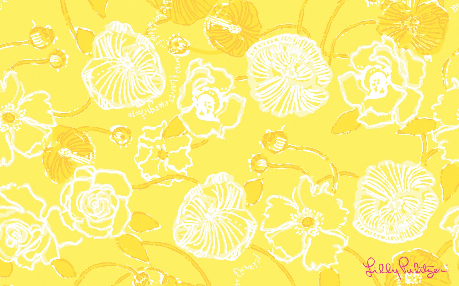 Yellow Wallpaper Obsessd With Wallpaper Quotes Lilly Pulitzer Rebeccanicholeratliff