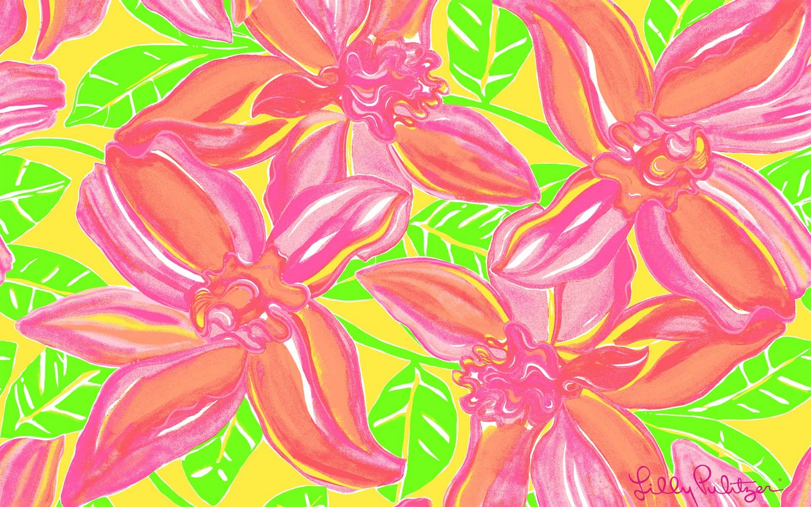 Lilly Pulitzer Desktop Wallpaper With Quotes Tropicalbeauty1920