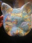 Masked ball decoupage mask