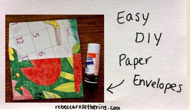 Easy-DIY-Paper-Envelopes