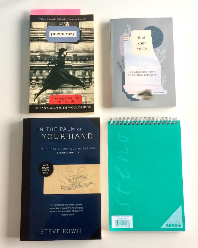 books about writing poetry