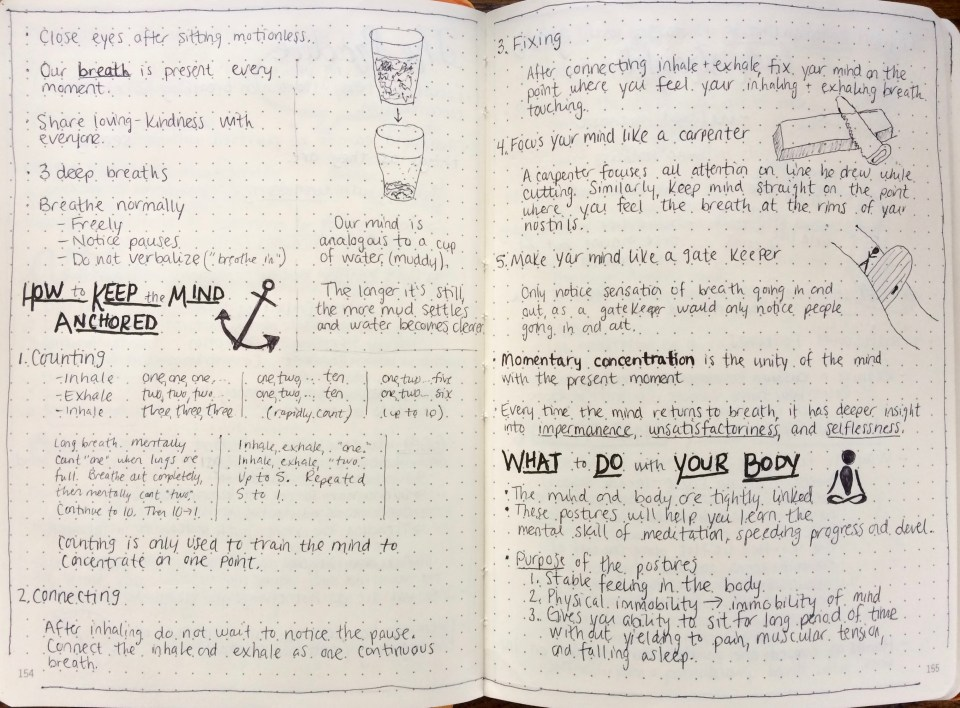 MIndfulness in Plain English Notes 3