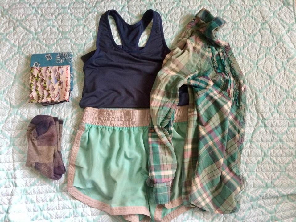 Clothes worn on AZT thru-hike