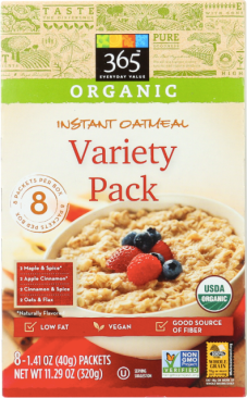 Oatmeal variety pack