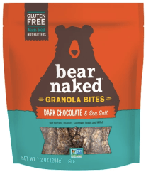 Bear Naked dark chocolate granola bites
