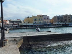 Chania Hafen / Port